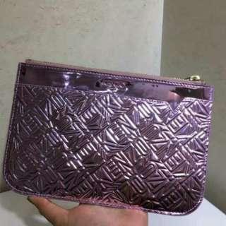 kenzo 閃亮紫色clutch bag 手包