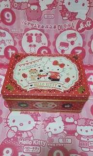 Hello Kitty Empty Tin Box