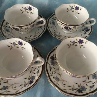 Narumi Fine Bone China Tea Cups