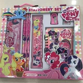 My Little Pony stationary set