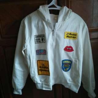 Jaket putih murah