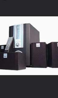 NEC SP530 5.1聲道音響系統