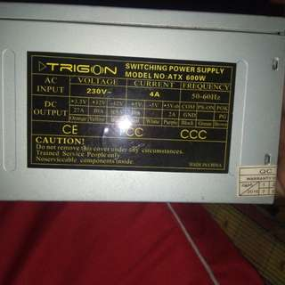 Generic Power Supply 600 watt