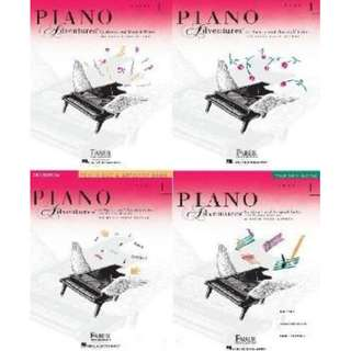 Piano Adventures 2nd edition Primer and Level 1 (free delivery)
