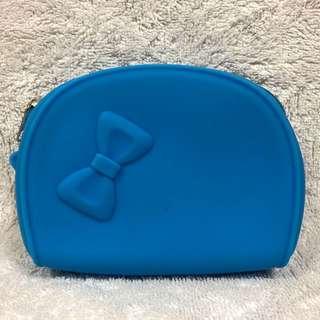 BN New Blue Waterproof Water Resistant Pouch