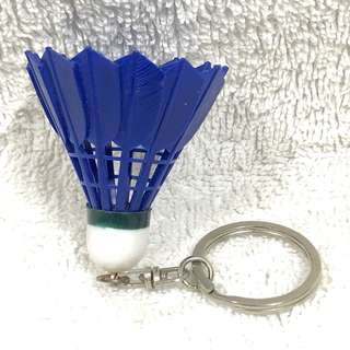 BN New Blue Mini Badminton Racket Racquet Keychain