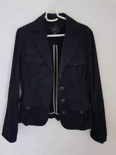 MNG Suit Navy Blue Blazer