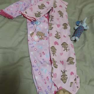 Sleepsuit for 3 to 6 mos.baby girl