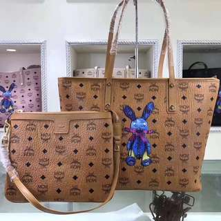 MCM Shopping Tote Bag Set
