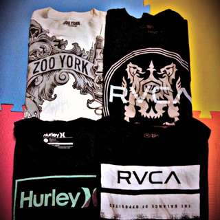 Rvca,Hurley,Zooyork,