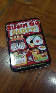 DELUXE AUTHENTIC Sushi go party
