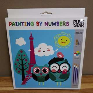 Punk Star Painting by Numbers