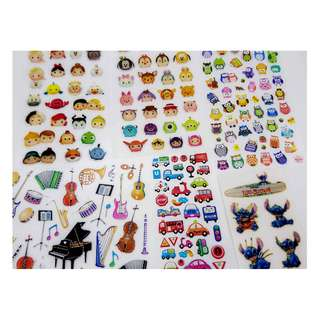 Stickers vehicle music instruments Disney's Stitch (free delivery)