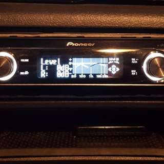 Pioneer deh p80rsll car cd player with remote control