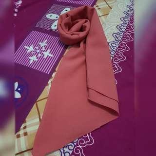 Hijab instan bata