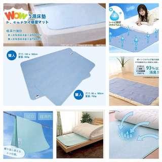 日本🇯🇵消臭防蟎吸濕床墊  (單人或雙人)