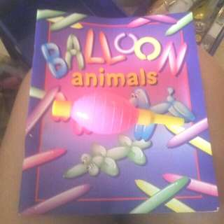 baloon animal instruction book