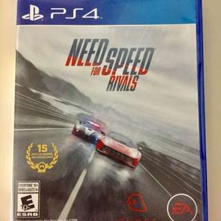 Need For Speed Rivals ( Ps4 )