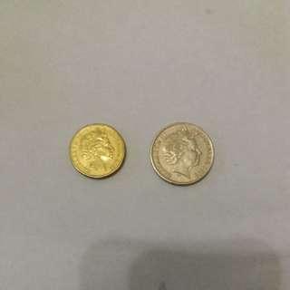 Australia old coins  & special edition ( Apec)