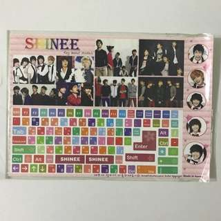 SHINee stickers (laptop sticker)