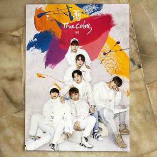 JBJ TRUE COLORS ~ Official Poster