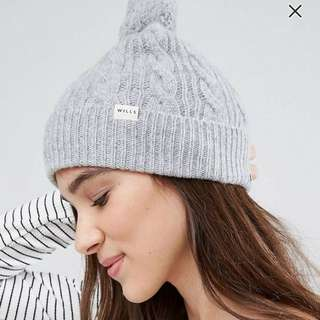 Jack wills cable beanie