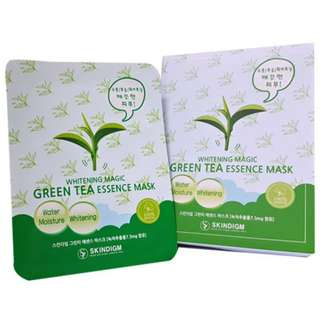 Skindigm Essence Mask Green Tea