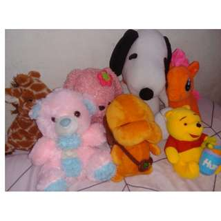 Assorted Stuffed / Plushie Toys