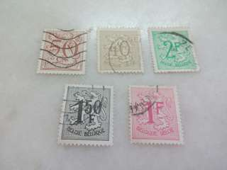 Belgium Stamps #M166