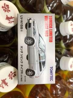 Tomytec Honda CIVIC Type R 白色(日版)