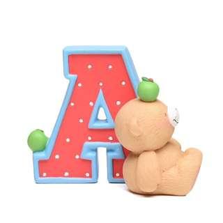 Forever Friends Alphabet Figurine – A