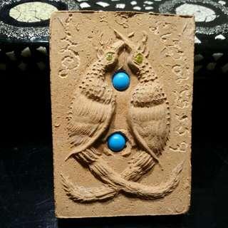 Kruba krissana Jumbo Twin Salika Amulet