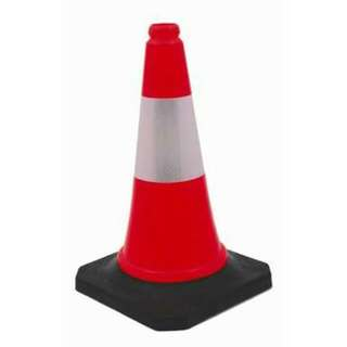 Rubberized Traffic Cone