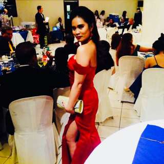 Red gown 😊