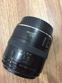 Canon marco lens EF 50mm f2.5