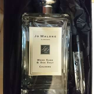 Jo Malone Wood sage and Sea salt cologne 100 ml. 原價過千