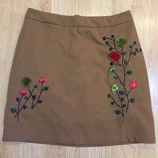 Span Brown Flowers