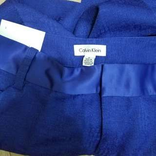 Calvin Klein blue dress pants, size 2