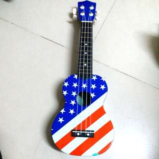 Guitar long 21 inches for children colour fill off three dots but 100 working