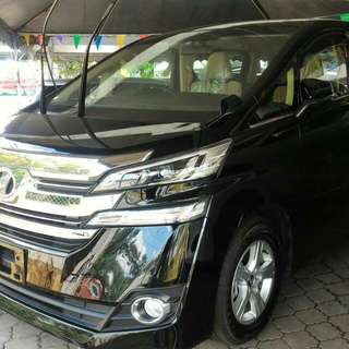 Toyota Vellfire X Super Luxury