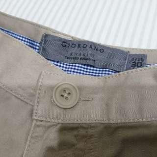 GIORDANO Khakis Short Pant Size 30