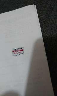 Toshiba64GB卡