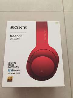 Sony h.ear on noise cancelling headphones