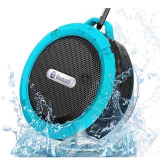 C6 Bluetooth Speaker Portable Wireless Waterproof Shower Car Speakers Handsfree with Mic Cup Music Mini Boombox
