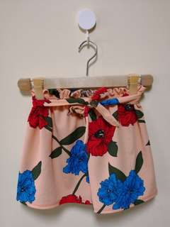 FLORAL CANDY SHORT