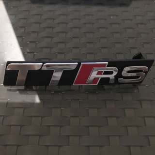 Genuine Audi TTRS Front Grill Badge