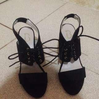 Heels Black Berrybenka
