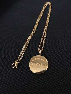 Tiffany & Co. Gold necklace
