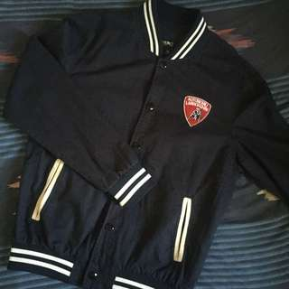 Varsity Jacket (with Lamborghini Automobili patch)