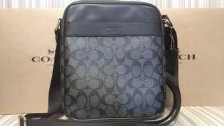 Coach flight crossbody bag